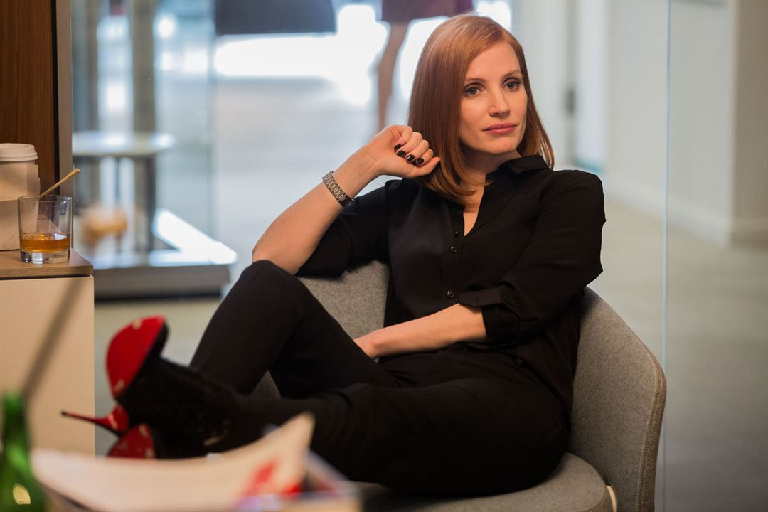 Miss Sloane : Photo Jessica Chastain