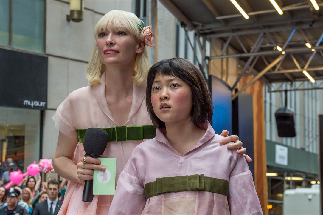 Okja : Photo Seo-Hyun Ahn, Tilda Swinton