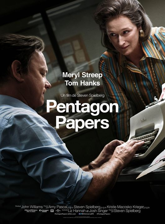 Pentagon Papers : Affiche