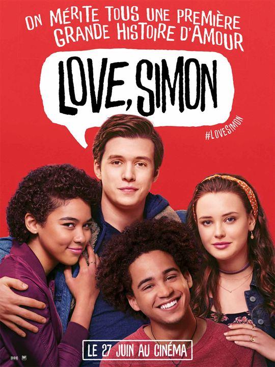 Love, Simon : Affiche