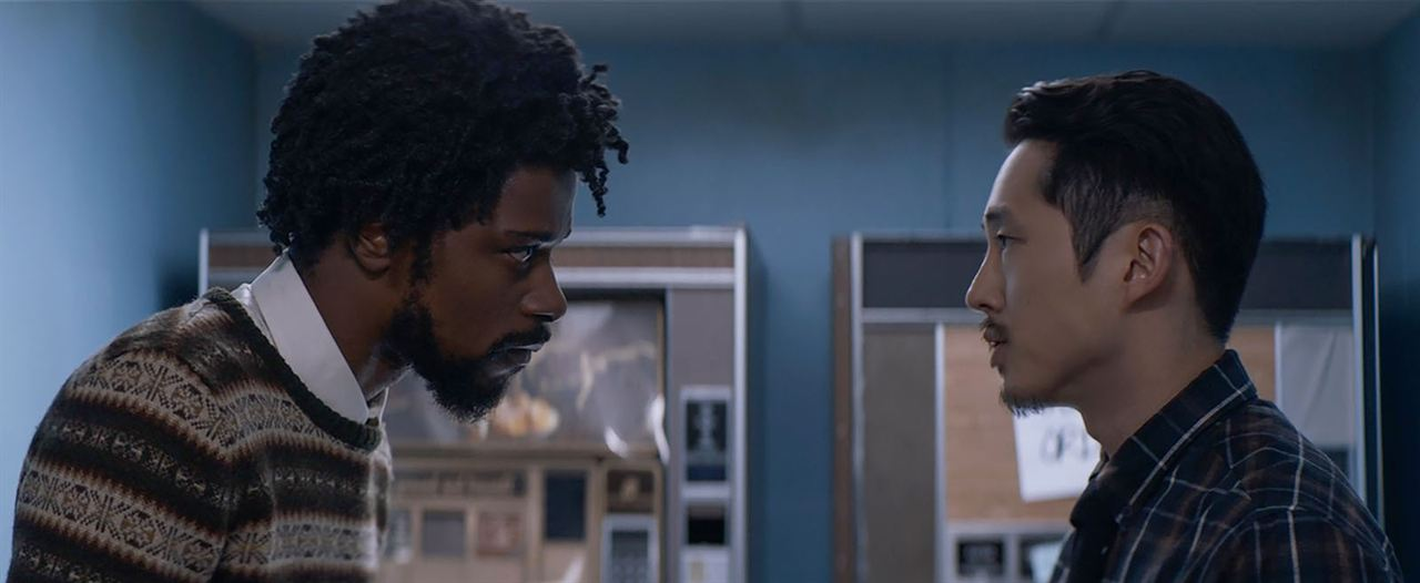 Sorry To Bother You : Photo Lakeith Stanfield, Steven Yeun