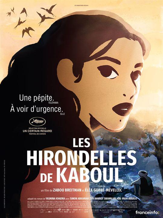 Les Hirondelles de Kaboul : Affiche