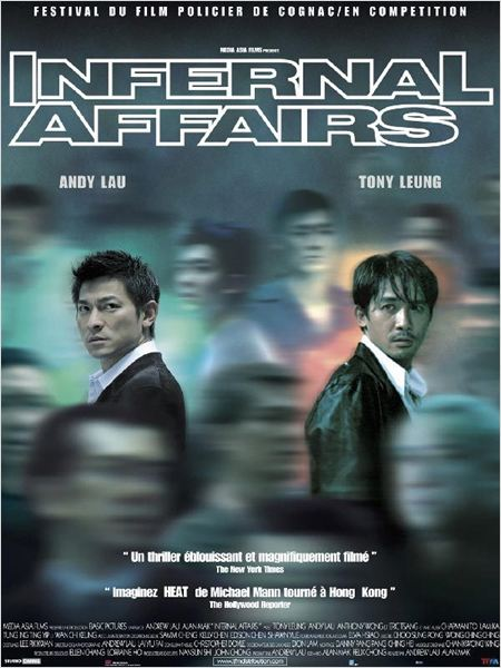 Affiche - Infernal Affairs