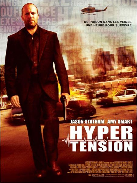 Hyper tension : Affiche Brian Taylor, Jason Statham, Mark Neveldine