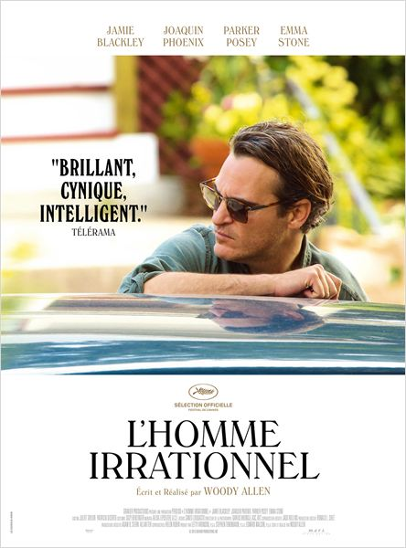 L'Homme irrationnel : Affiche