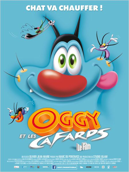Telecharger Oggy et les cafards DVDRip French