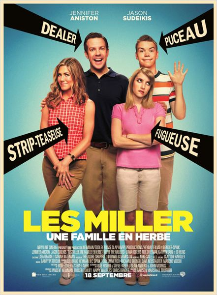 Telecharger Les Miller une famille en herbe DVDRip French