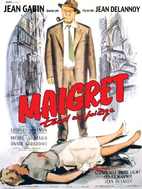 """Résultat de recherche d'images pour """"Maigret tend un piège"""""""