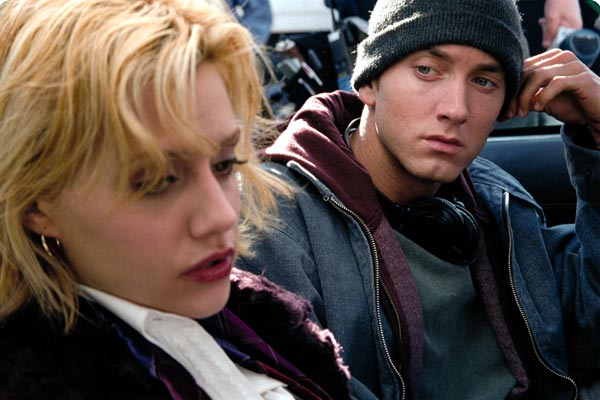 8 Mile : Photo Brittany Murphy, Curtis Hanson, Eminem