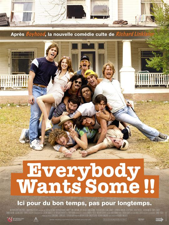 Everybody Wants Some !! : Affiche