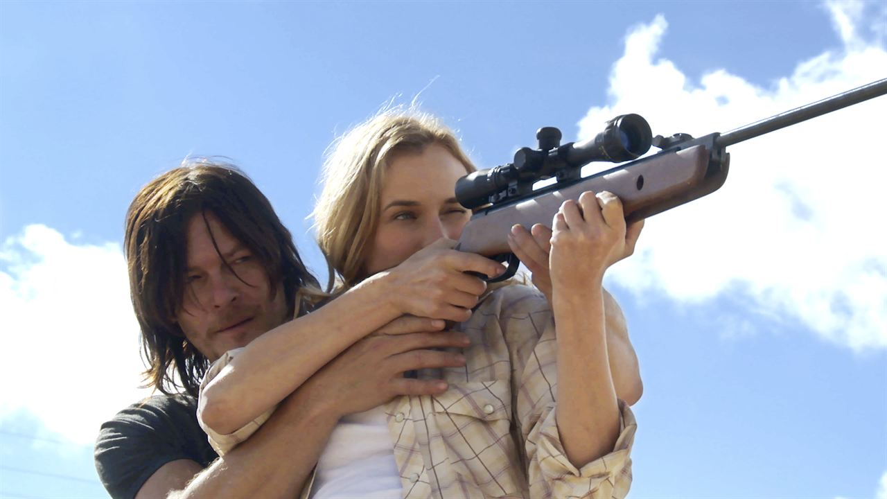 Sky : Photo Diane Kruger, Norman Reedus