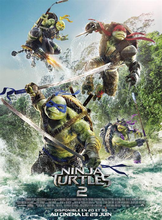 Ninja Turtles 2 : Affiche