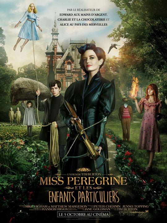 Miss Peregrine et les enfants particuliers : Affiche