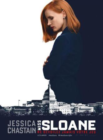 Miss Sloane : Affiche