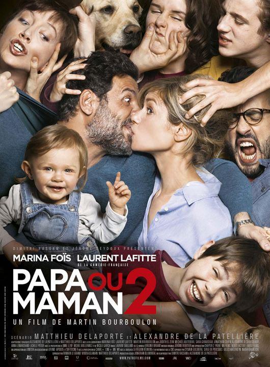 Papa ou maman 2 : Affiche
