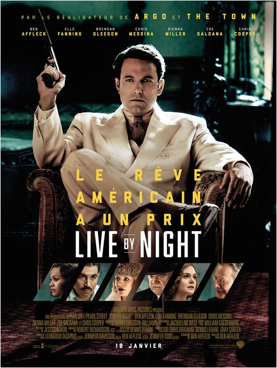 Live By Night : Affiche