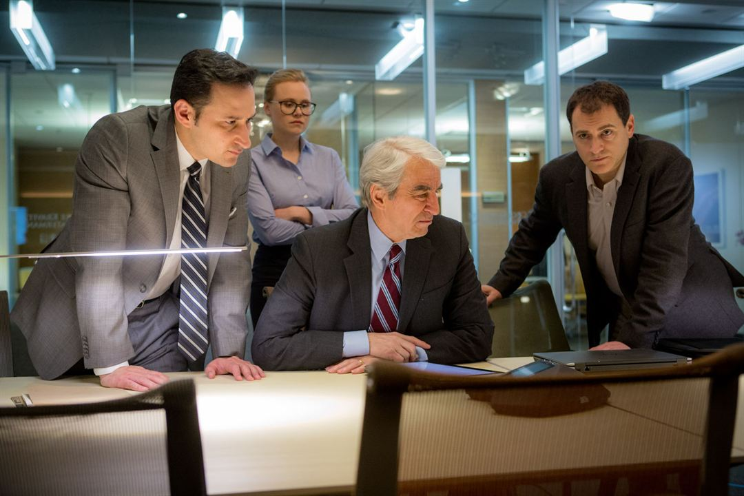 Miss Sloane : Photo Alison Pill, Michael Stuhlbarg, Sam Waterston