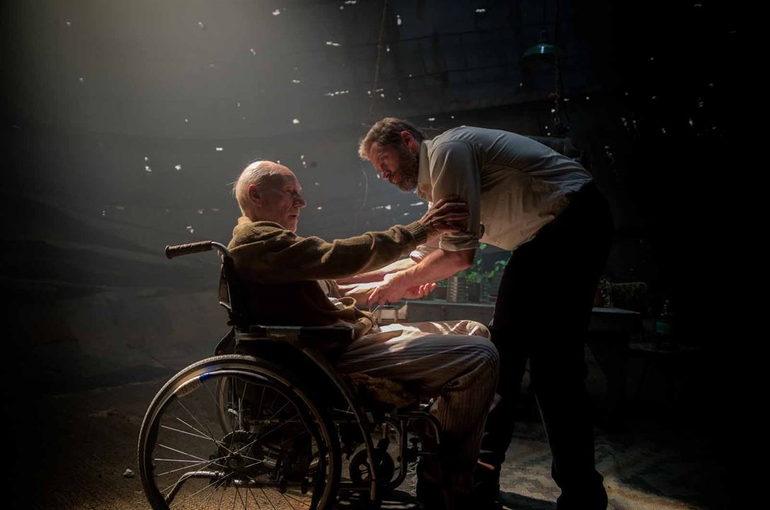 Logan : Photo Hugh Jackman, Patrick Stewart