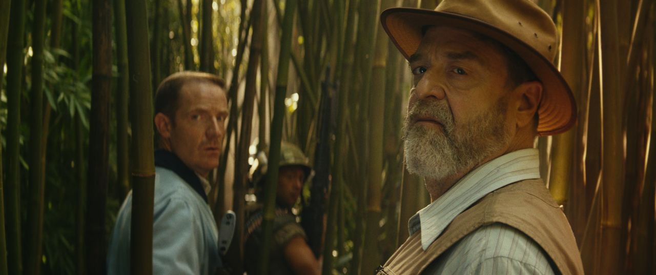 Kong: Skull Island : Photo John Goodman