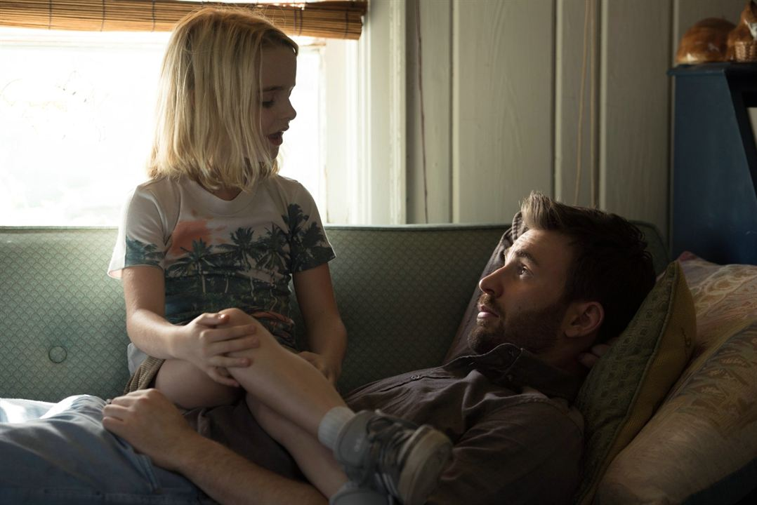 Mary : Photo Chris Evans, Mckenna Grace