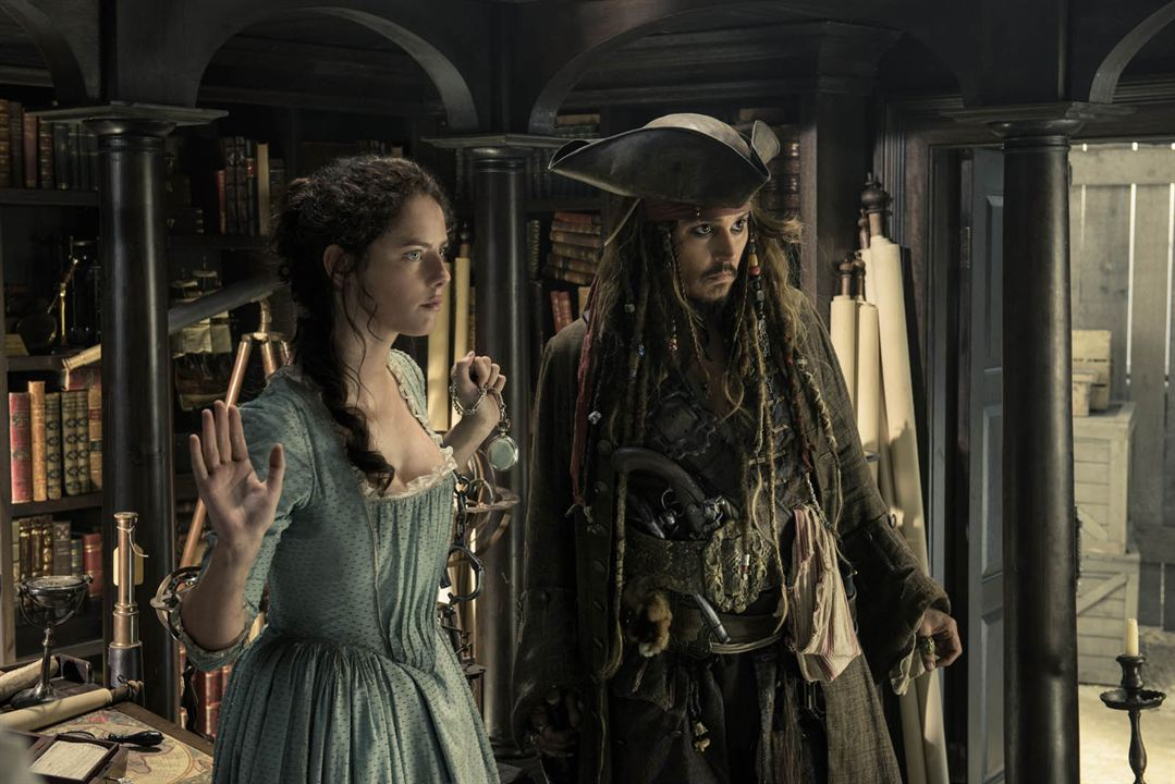 Pirates des Caraïbes : la Vengeance de Salazar : Photo Johnny Depp, Kaya Scodelario