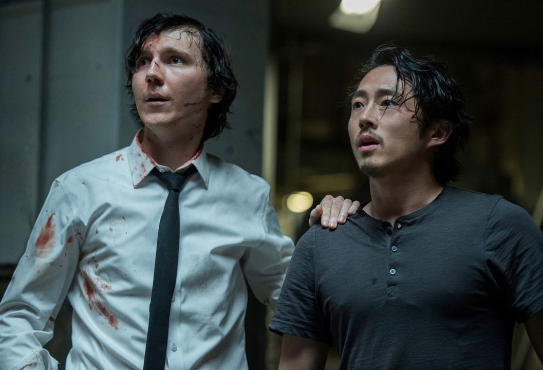 Okja : Photo Paul Dano, Steven Yeun
