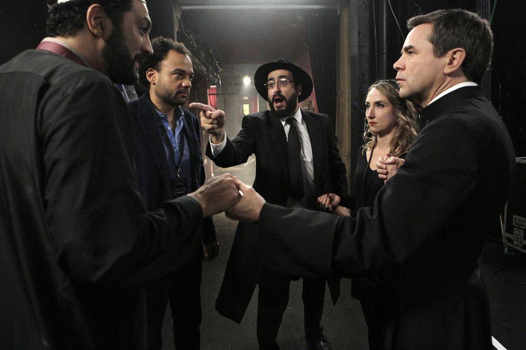 Coexister : Photo Audrey Lamy, Fabrice Eboué, Guillaume De Tonquédec, Jonathan Cohen, Ramzy Bedia