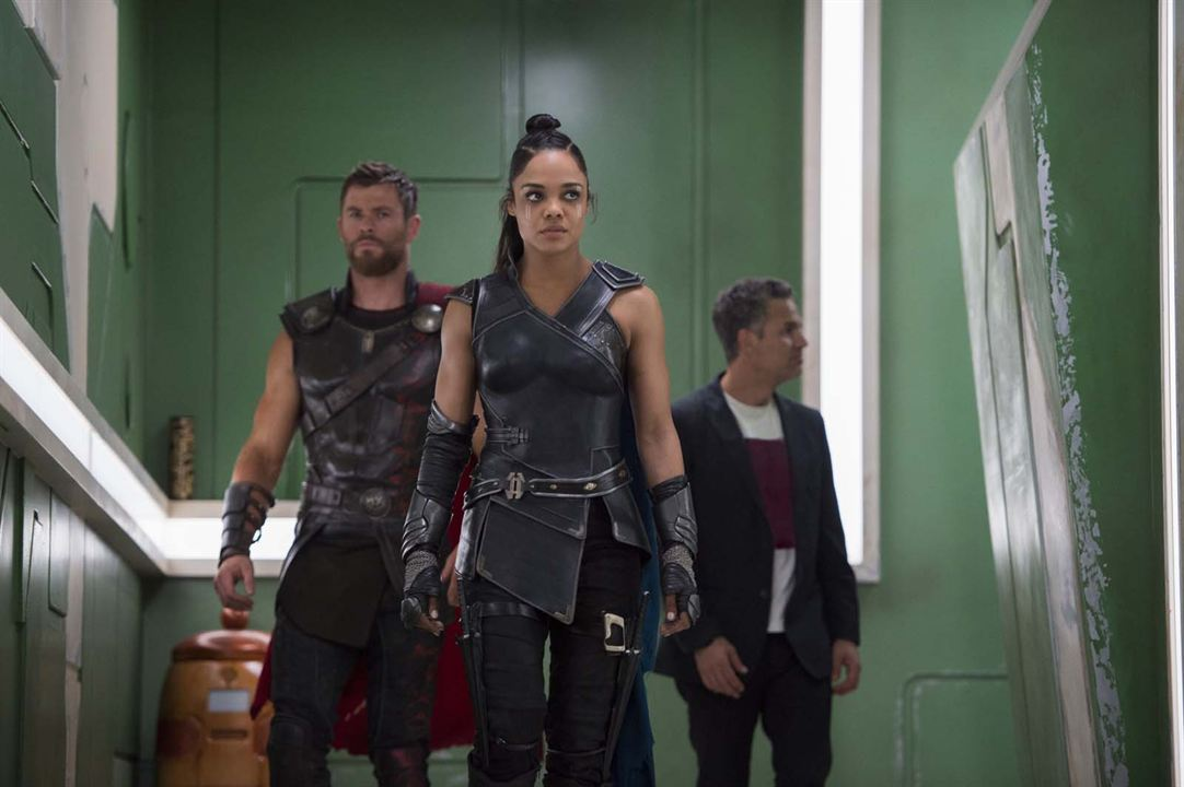 Thor : Ragnarok : Photo Chris Hemsworth, Mark Ruffalo, Tessa Thompson