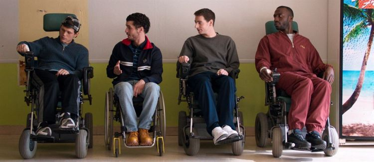 Patients : Photo Franck Falise, Moussa Mansaly, Pablo Pauly, Soufiane Guerrab