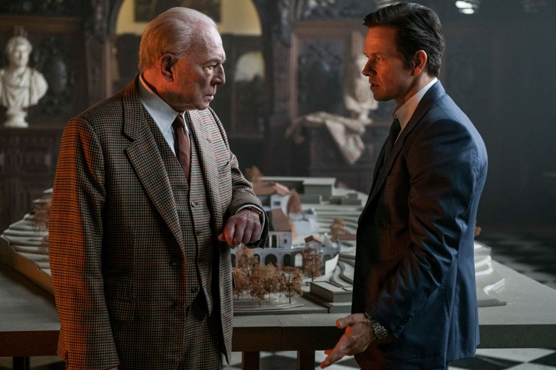 Tout l'argent du monde : Photo Christopher Plummer, Mark Wahlberg