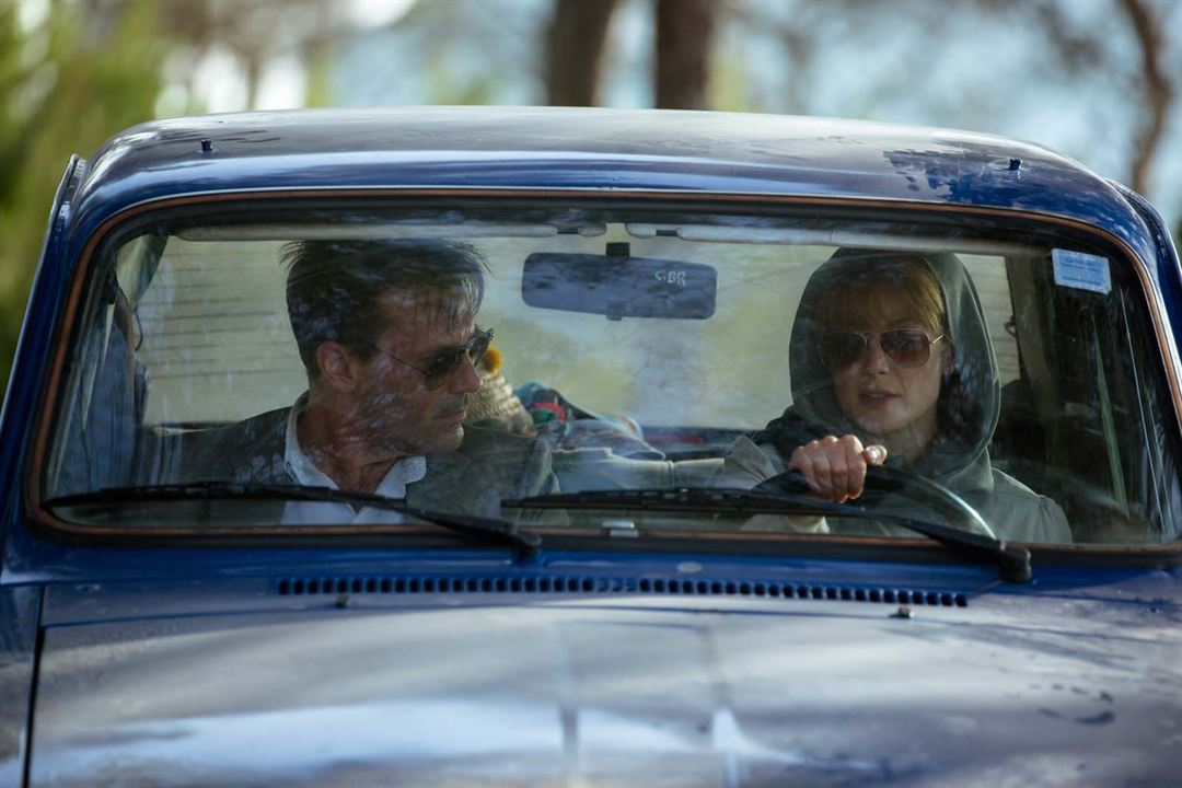 Opération Beyrouth : Photo Jon Hamm, Rosamund Pike