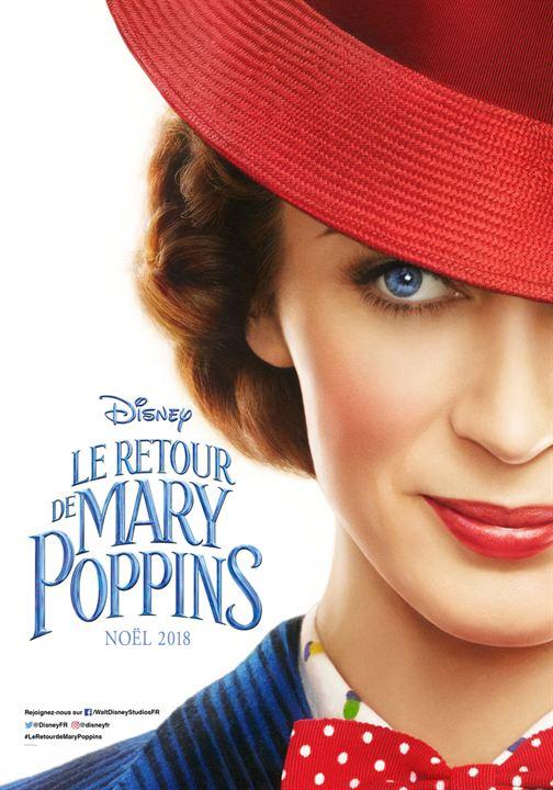 Le Retour de Mary Poppins : Affiche