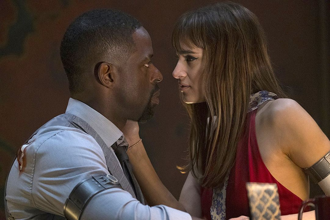 Hotel Artemis : Photo Sofia Boutella, Sterling K. Brown