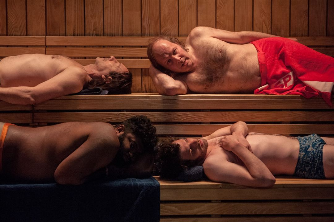 Le Grand Bain : Photo Balasingham Thamilchelvan, Félix Moati, Jean-Hugues Anglade, Philippe Katerine