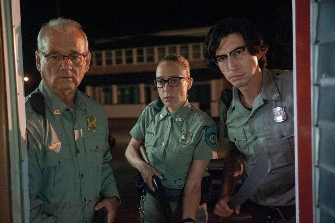 The Dead Don't Die : Photo Adam Driver, Bill Murray, Chloë Sevigny