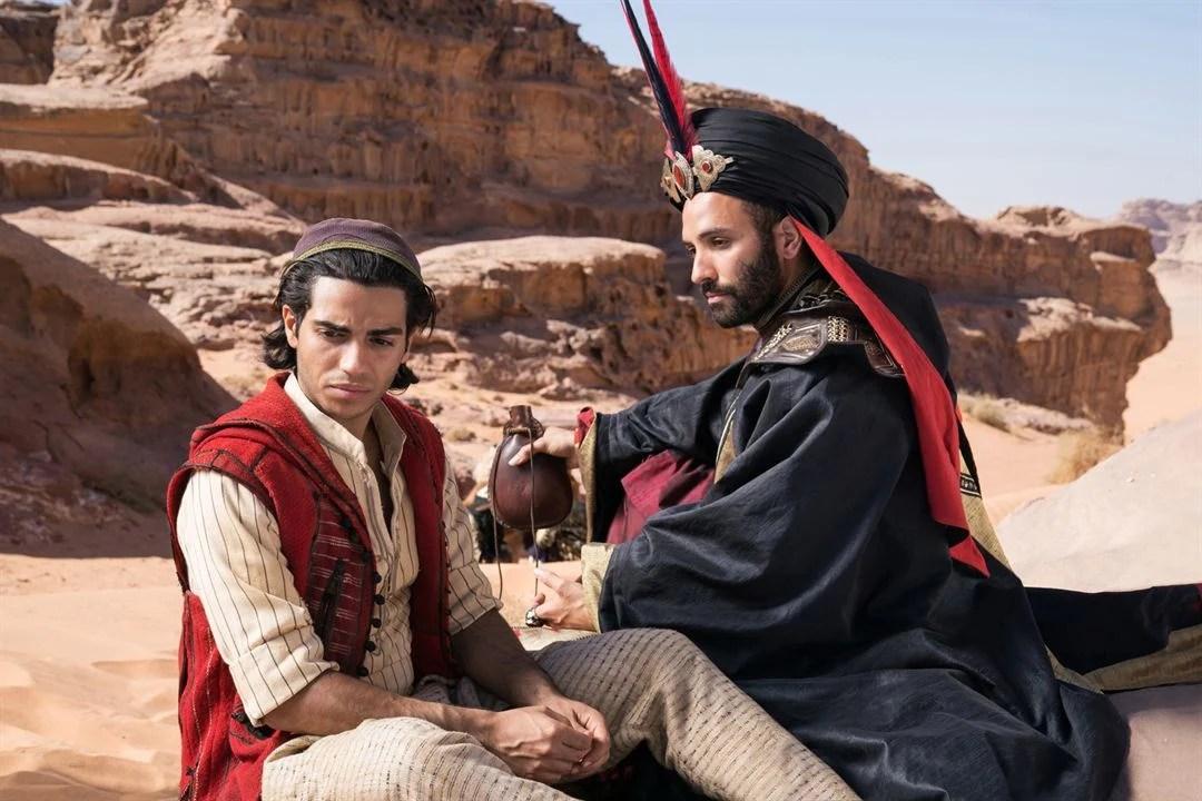 Aladdin : Photo Marwan Kenzari, Mena Massoud