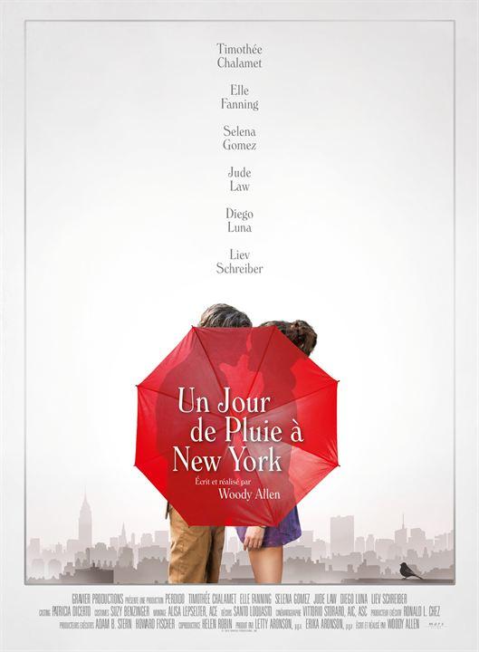 Un jour de pluie à New York : Affiche
