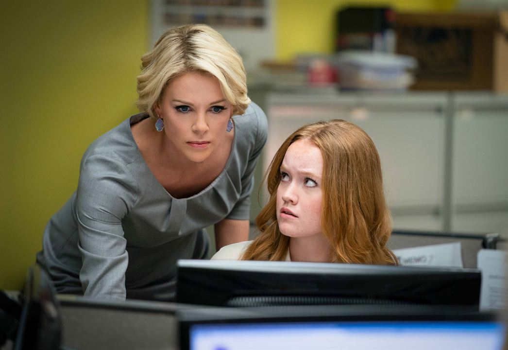 Scandale : Photo Charlize Theron, Liv Hewson