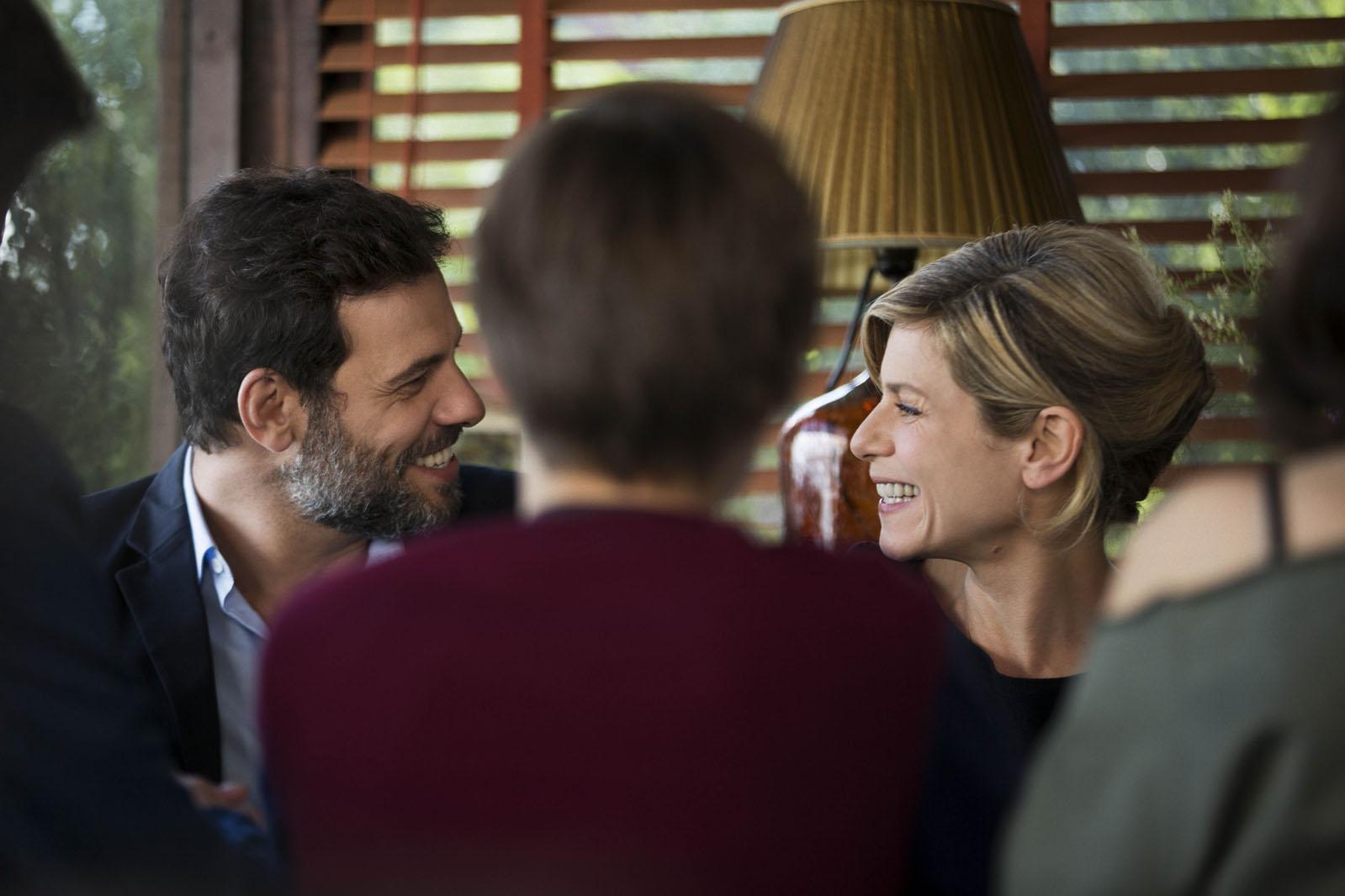 Vincent (Laurent Lafitte) et Florence ( Marina Foïs)