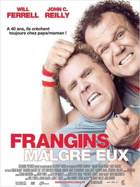Frangins malgré eux : Affiche Adam McKay, John C. Reilly, Will Ferrell