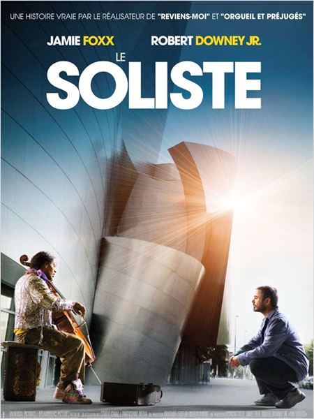Le Soliste : Affiche Jamie Foxx, Joe Wright, Robert Downey Jr.