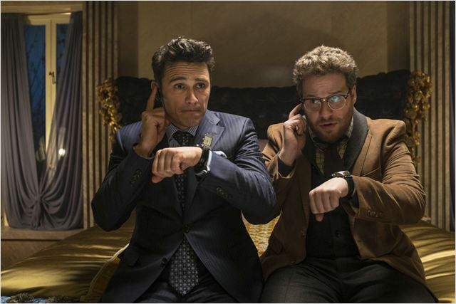 L' Interview qui tue ! : Photo James Franco, Seth Rogen