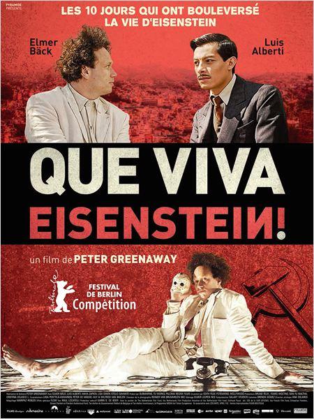 Que viva Eisenstein ! : Affiche