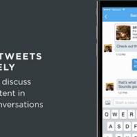 Partager un tweet public en message privé est désormais possible sur Twitter