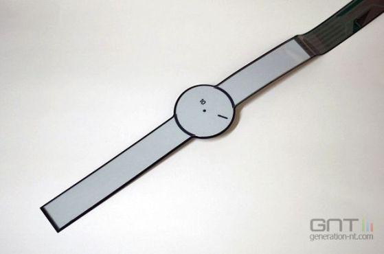 Concept de montre e-paper