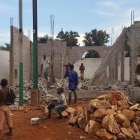 À Bangui, une mosquée emblématique de la réconciliation à nouveau détruite
