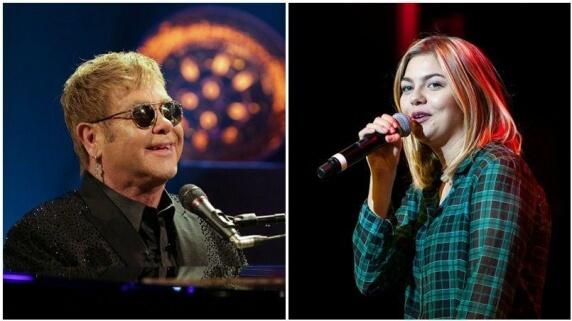 Louane Emera et Elton John
