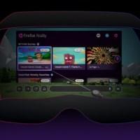 Firefox Reality 1.0, le navigateur web pour la réalité mixte, est disponible