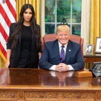 Kim Karsdashian reçue par Donald Trump à la Maison Blanche