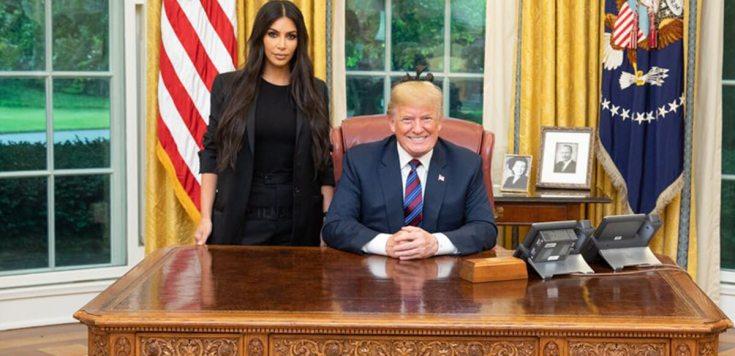 Kim Kardashian et Donald Trump